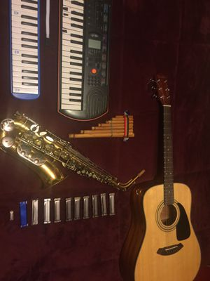 Saxophone and Guitar for sale for Sale in Henderson, NV