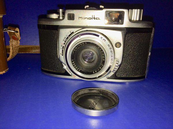 Minolta A Vintage 1955 Edition Camera