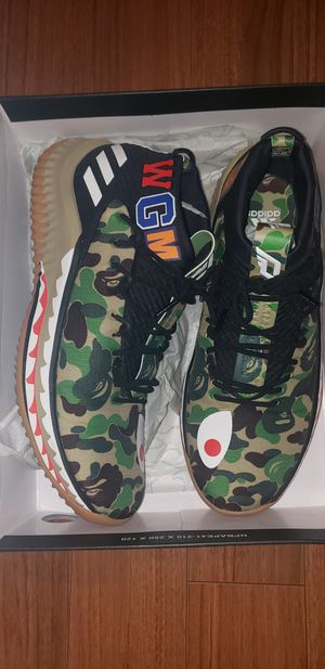 Adidas dame 4 bape for Sale in Gaithersburg, MD