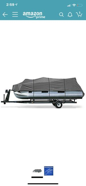 Pontoon boat cover for Sale in Spring, TX