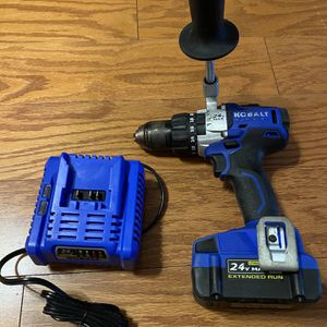 Kobalt 24v Max Hammer Drill. for Sale in Stafford, VA