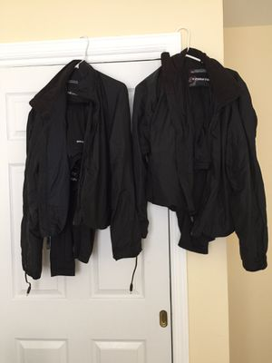 Heated gear for motorcycle riding in cold weather made by first gear manufacture for Sale in East Yaphank, NY