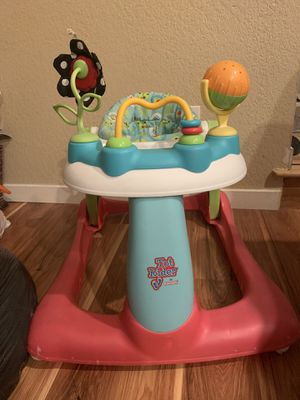Tot rider by kolcraft 2 in 1 activity center walker for Sale in Puyallup, WA