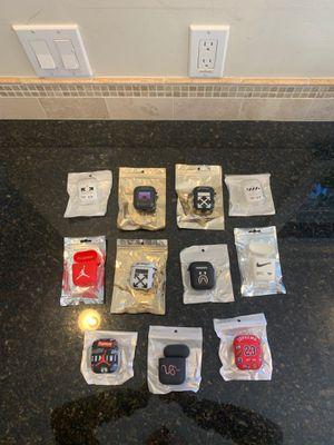 Lot of 11 Hypebeast Off-White Bape Nike Jordan Supreme AirPods Cases for Sale in Orinda, CA