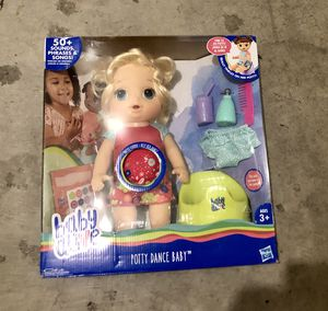 Baby Alive Potty Dance Baby for Sale in Irvine, CA