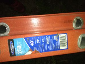 Werner 40 ' ladder excellent working condition$255 for Sale in Cleveland, OH