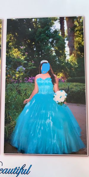 Quinceanera/ Sweet 16 Dress & Crown for Sale in La Mirada, CA
