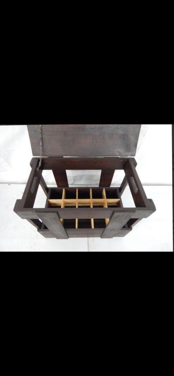 wine bottle storage case/table /restaurant use too