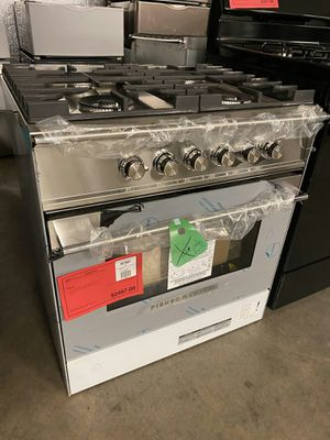 NEW! Fisher AND Paykel Slide In Gas Range Stove Oven! 1 Year Manufacturer Warranty Included for Sale in Chandler, AZ