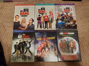 Big Bang Theory- Seasons 1-5 + Holiday Episodes (DVD) for Sale in Virginia Beach, VA