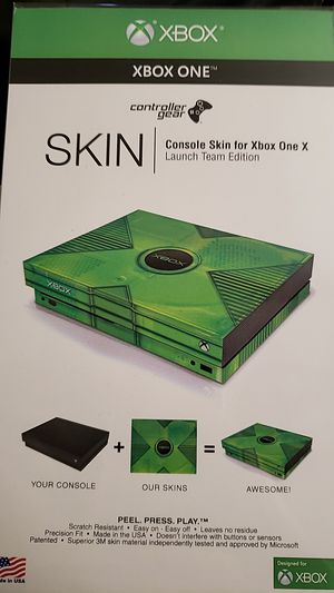XBOX ONE X skin for Sale in Richmond, CA
