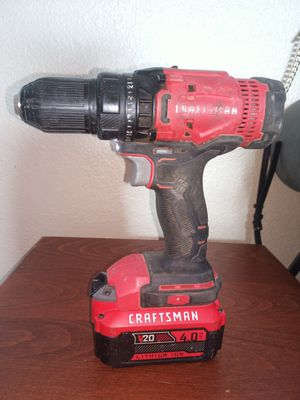Craftsman Drill 20 V for Sale in Avondale, AZ