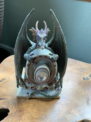 The Myles Pinkney Collection- #9052 Dragon – secret hidden - Statue for Sale in Casselberry, FL