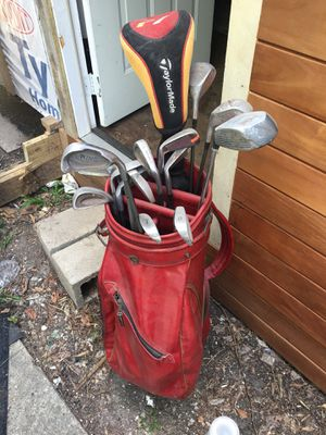 Golf clubs and bag for Sale in Houston, TX