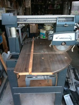 "Montgomery Ward 10"" Fully Adjustable Radial Arm Saw for Sale in Lemon Grove, CA"