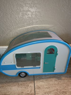 Barbie doll Winnebago trailer camper for Sale in Miami, FL