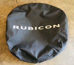 $60 OBO - Jeep Wrangler Rubicon - Full Size Tire Cover for Sale in Oceanside, CA