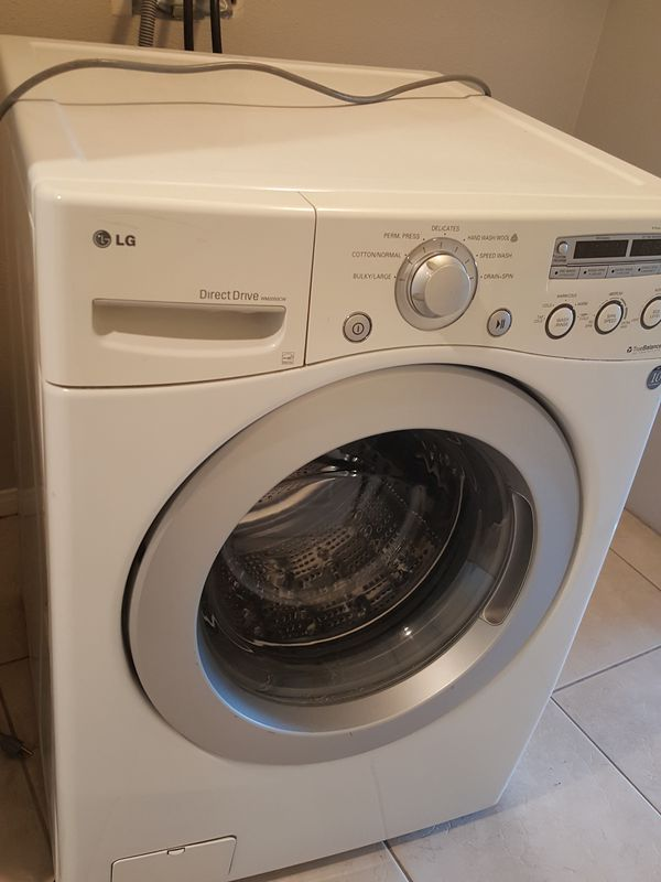 LG WM2050CW White Front Load Washer