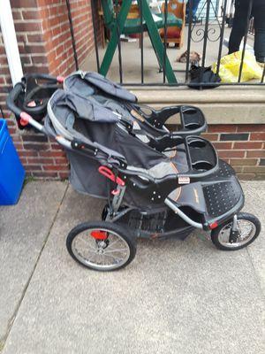 Baby Trend Navigator Double Jogging Stroller for Sale in Philadelphia, PA