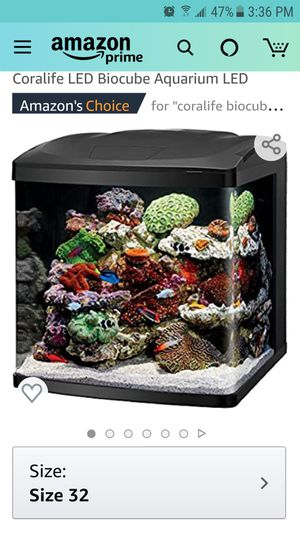 32 gallon biocube for Sale in Columbus, OH