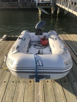 motor, boat,motor, trailer $6000.00 for Sale in Quincy,  MA