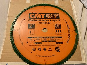 "14"" miter saw blade for Sale in Saratoga, CA"
