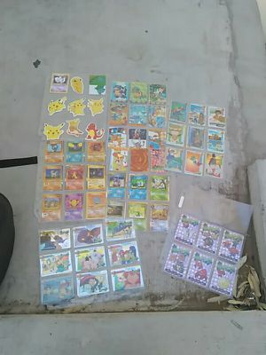 1990s Pokemon stickers and Japanese cards for Sale in Phoenix, AZ