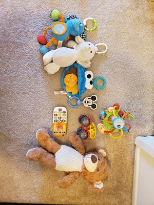 Infant Stroller/carseat toys, teether, Baby toys for Sale in Irvine, CA