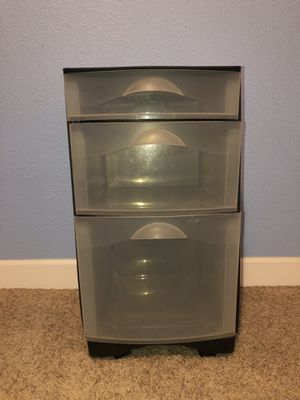 3 Drawer Plastic Storage for Sale in San Jose, CA