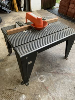 Sears Craftsman Router Table (Table Only) for Sale in Evesham Township, NJ