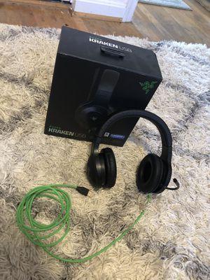 razer kraken usb gaming headphones for Sale in West Springfield, VA