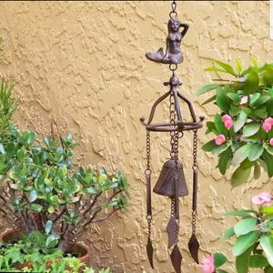 "Brand New! Very Long 28"" l Mermaid Bell Wind Chime Nautical Coastal for Sale in Miami, FL"