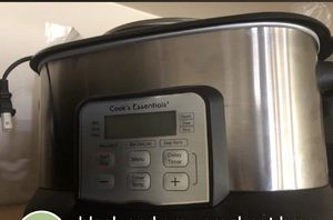 Cook's essentials crockpot for Sale in Beckley, WV