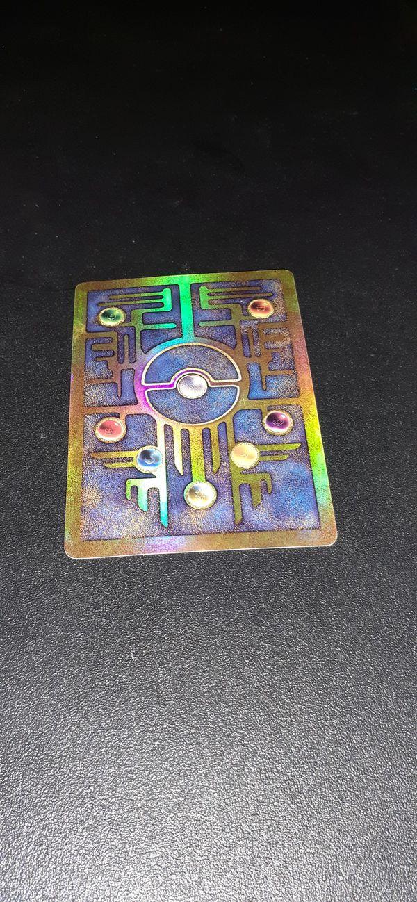 Original Rare 1999 Holographic Japanese Mew Pokemon Card