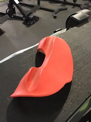 Red Barbell Neck Protector for Sale in Houston, TX