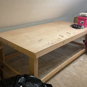 Free 4'x8' DIY Craft/ Woodworking Table for Sale in Dacula, GA