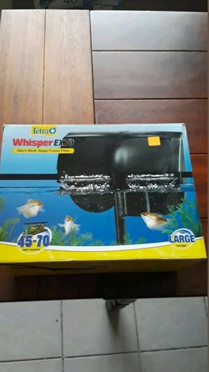 Tetra Whisper EX70 Power Filter for Sale in Kenneth City, FL