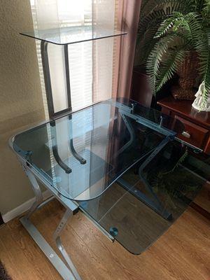 Glass Desk for Sale in Chula Vista, CA