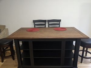 Kitchen table with Stools and Chairs for Sale in Lake Shore, MD