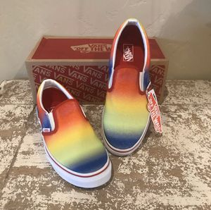 Vans Slip Ons Rainbow Glitter Shoes for Sale in AZ, US