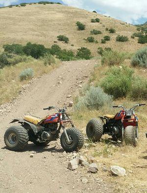 2 honda three wheelers for Sale in Mount Pleasant, UT