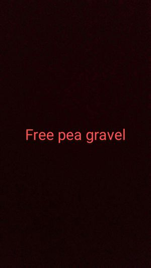 Free pea gravel for Sale in Pasadena, CA