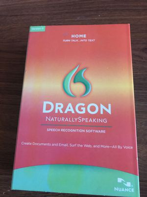 Dragon Natural Speaking Speech Recognition software for Sale in Phoenix, AZ