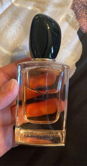 Giorgio Armani Si Perfume for Sale in Visalia, CA