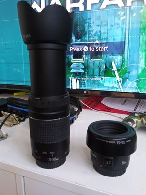 Canon lens for Sale in Los Angeles, CA