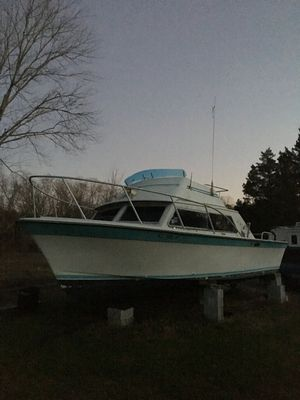 Fiberglass Fishing boat with cabin for Sale in Williamstown, NJ