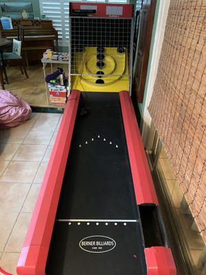 Skee Ball machine from Berner Billards. for Sale in Maitland, FL