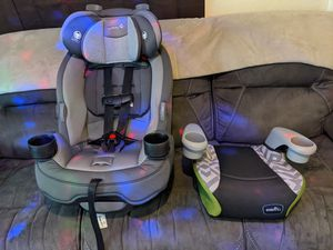 Car seat and booster seat for Sale in Aliquippa, PA