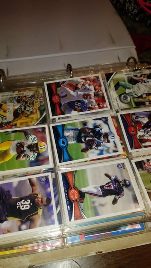 Football and basketball cards about 300 all for $25 for Sale in Kent, WA