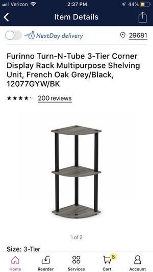 3 tier corner shelf for Sale in Simpsonville, SC